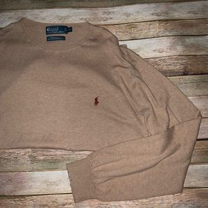 Polo Ralph Lauren Pima cotton XL crew sweater